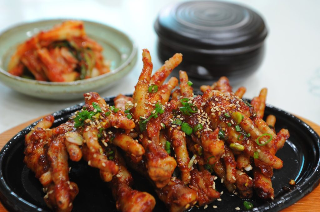 South African Food - Chicken Feet/ Maotwana