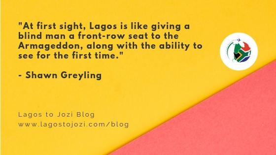 Lagos Vs Jozi