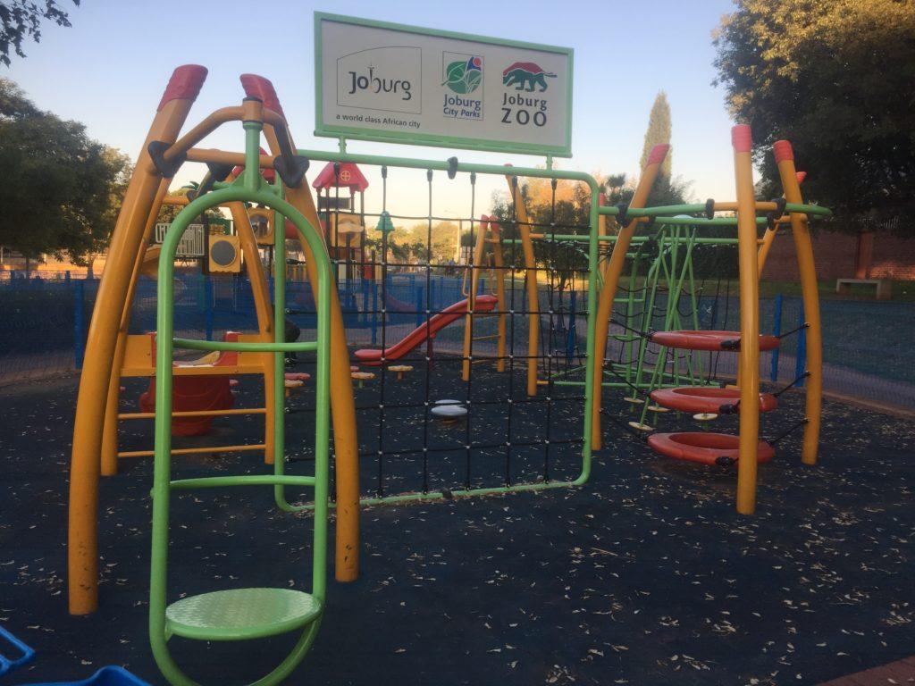The playground at the Westdene Dam