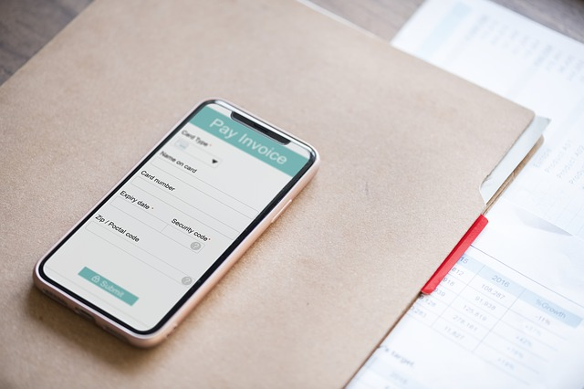 Mobile app - Wave Invoice